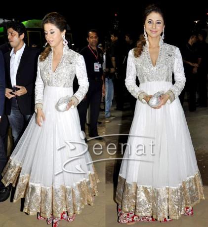 Bollywood Designer Frocks On Urmila Matondkar