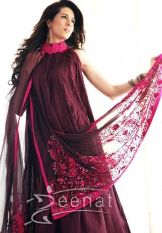 Sabina Pasha Pink Anakrali Syle