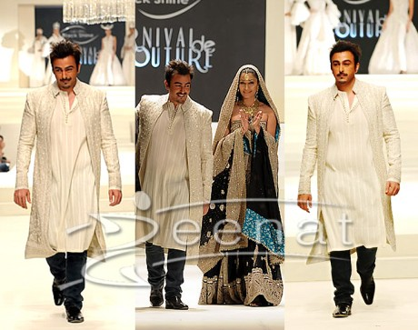 Shaan Deepak Perwani's Designer Sherwani