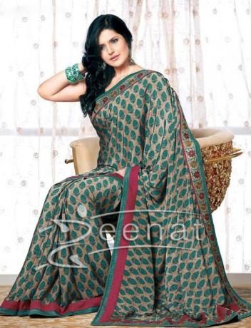 Bollywood Saree Trend Zarine Khan