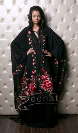 Full Embroidered Abaya Design