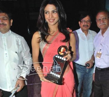 Priyanka Chopra Indian Designer Saree Styles