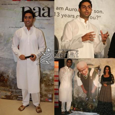 Abhishek Bachchan White Kurta Pajama