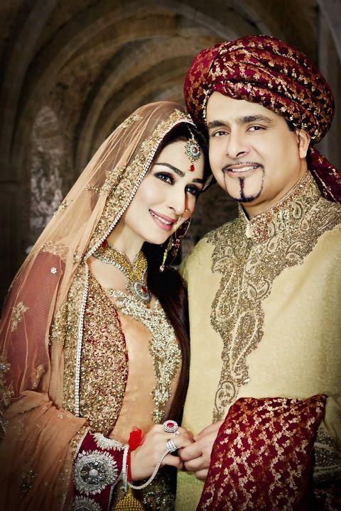 Reema and david wedding