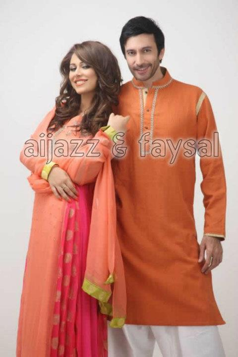 Latest Kurta Collection By Aijazz Aslam ZeenatStyle.com (6)