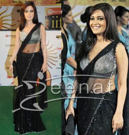 Rimi Sen Indian Saree Style