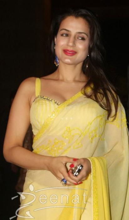Amisha Patel With Boyfriend Kunal Goomer At Ritesh Deshmukh Genelia Wedding Reception Hotel Grand Hyatt In Mumbai
