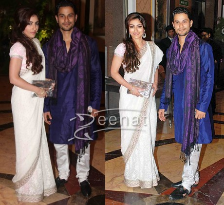 Soha Ali Khan at Ritesh Genelia Wedding