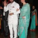 Saif Ali Khan Kareena Kapoor at Ritesh Deshmukh Genelia Wedding Reception at Hotel Grand Hyatt in Mumbai
