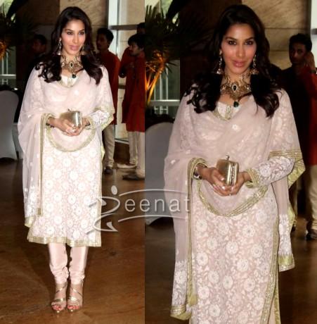 Sophie Chaudhary Churidar Salwar Kameez