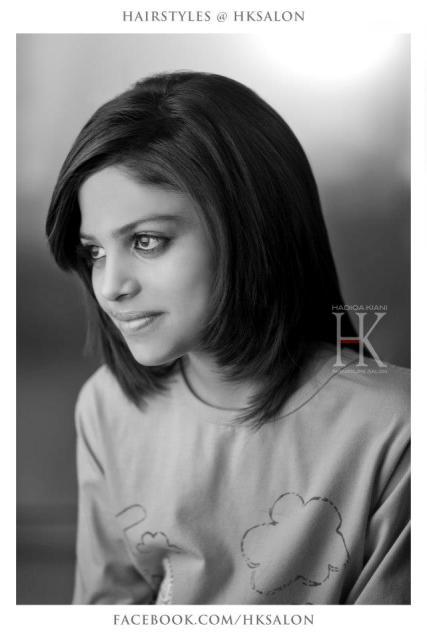 Latest hadiqa kiani signature salon hairstyles collection for A signature hollywood salon