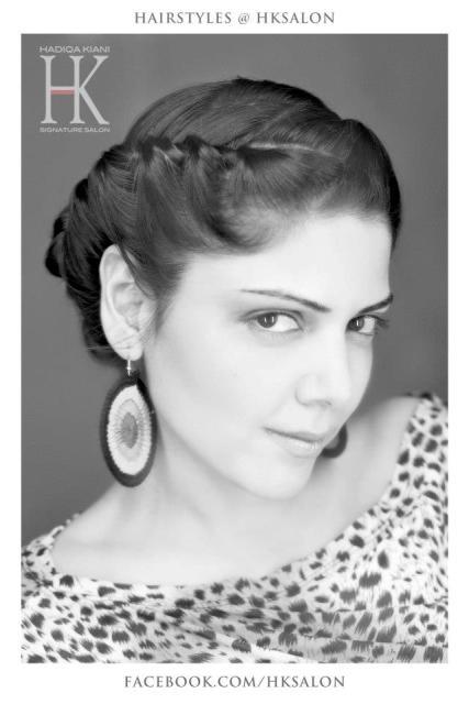 Hadiqa kiani ladies salon signature zeenat style for A signature hollywood salon