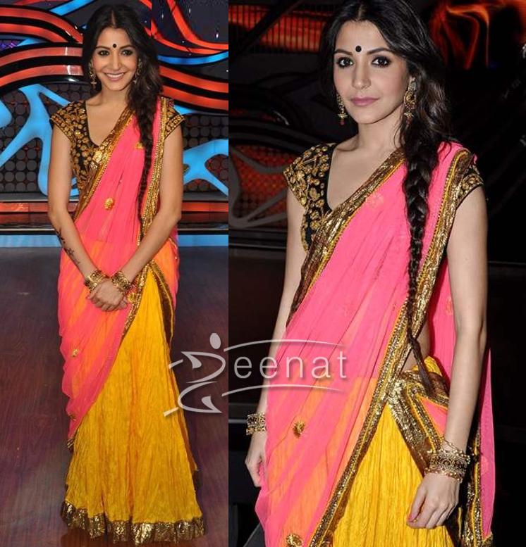 Anushka-Sharma-Saree-Style
