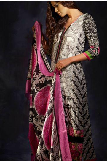 Sana Safinaz Summer Lawn Collection 2013-2012 Zeenat Style (10)