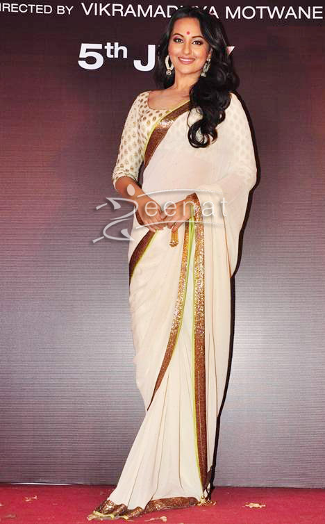 0 comments Sonakshi Sinha White Saree