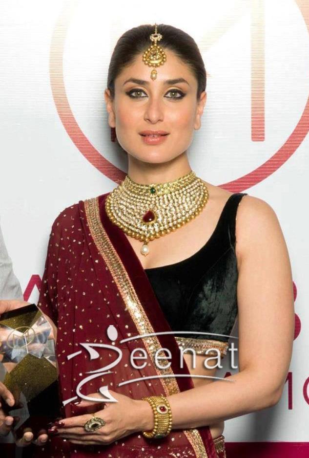 Kareena Kapoor In Designer Lehenga Choli As the Brand ...