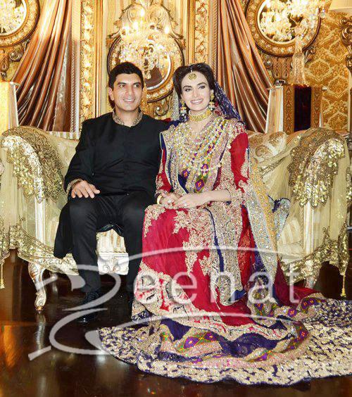 Mehreen Syed Bridal Lehenga By HSY
