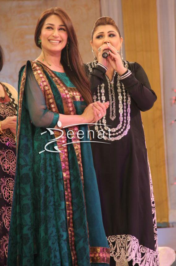 Reema Khan In Anarkali Churidar