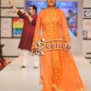 Sadia Imam Walks The Ramp For Nomi Ansari Dress