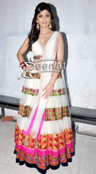 Shilpa-Shetty-In-Designer-Anarkali