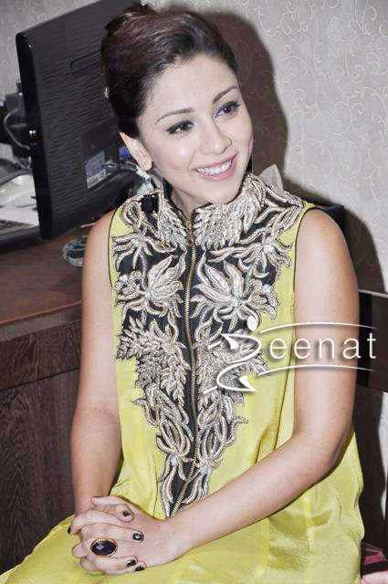 Amrita Puri In Kurta Churidar