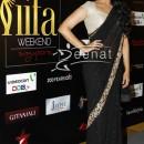 Sonakshi Sinha In Black Chiffon Saree