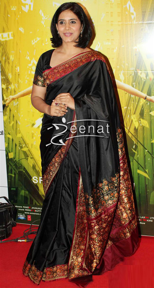 Sonali-Kulkarni-In-Traditional-Saree | Zeenat Style