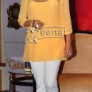 Juhi Chawla In Yellow Kurta At Believe Campaign