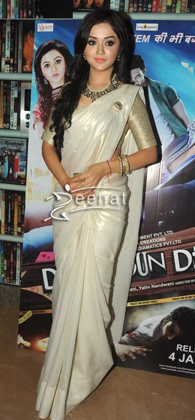 Ragini-Nandwani-In-White-Saree
