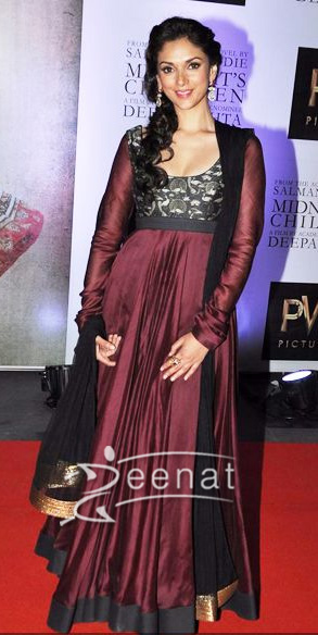 Aditi Rao In Bollywood Anarkali Churidat