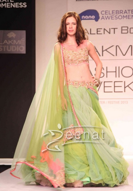 Anushka Reddy Show at Lakme Fashion Week Winter Festive 2013-4