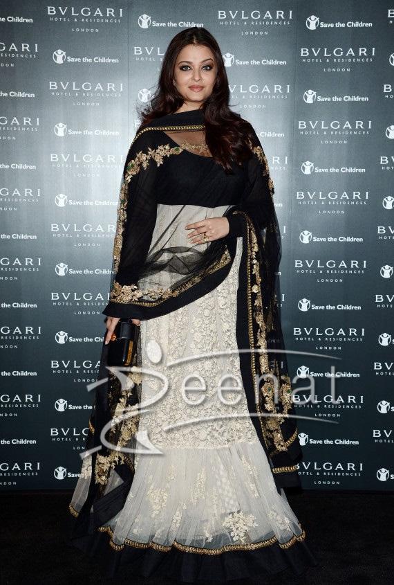 Aishwarya Rai In Designer Anarkali Frock Zeenat Style