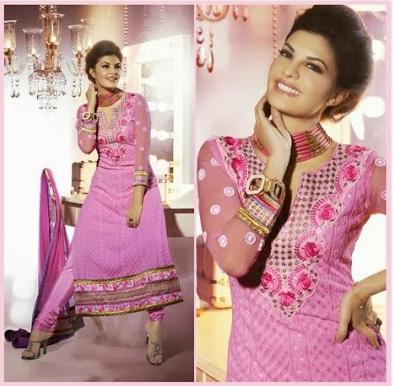 Jacqueline Fernandez In Designer Salwar Kameez 2H