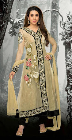 Kamishma Kapoor In Anarkali Suits 1B