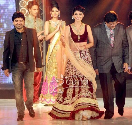Shilpa Shetty In Designer Lehenga Choli