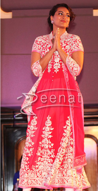 Sonakshi In Bollywood Anarkali suits