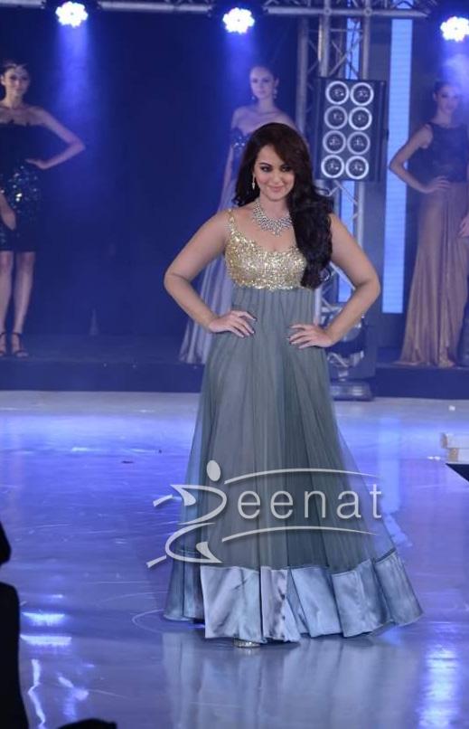Sonakshi Sinha In Designer Anarkali Frock