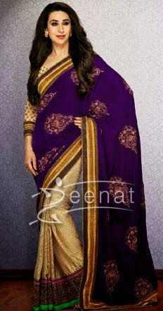Karishma In Designer Saree 1L
