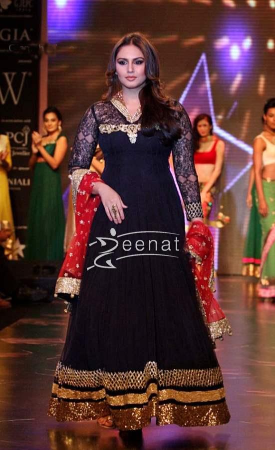 Huma Qureshi in Designer Frock