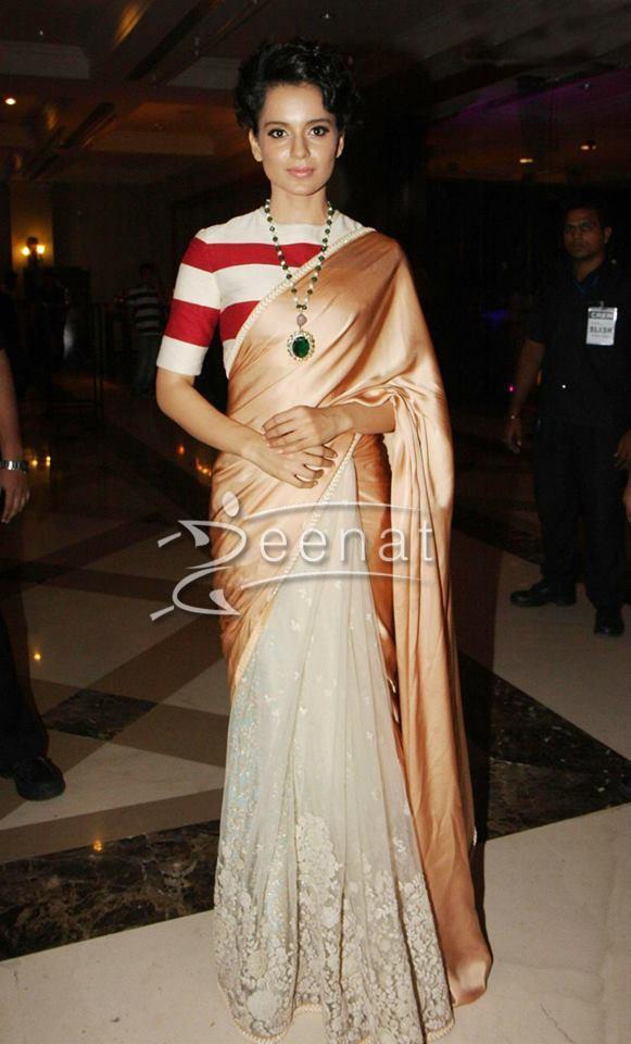 Kangana Ranaut in Sabyasachi Outfit