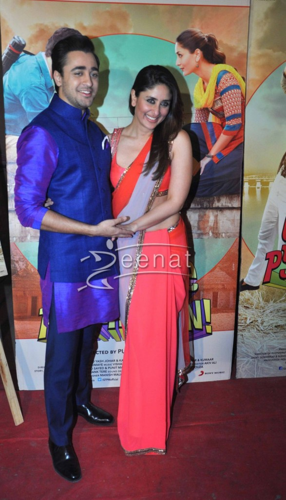 Kareena Kapoor and Imran Khan in Nach Baliye