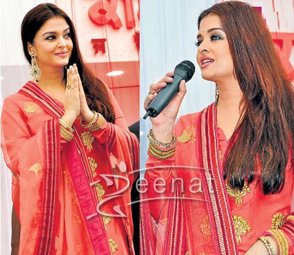 Aishwarya Rai Bachchan In Bollywood Salwar Kameez