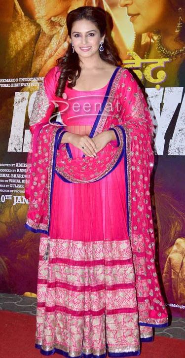 Huma Qureshi In Designer Anarkali Frock