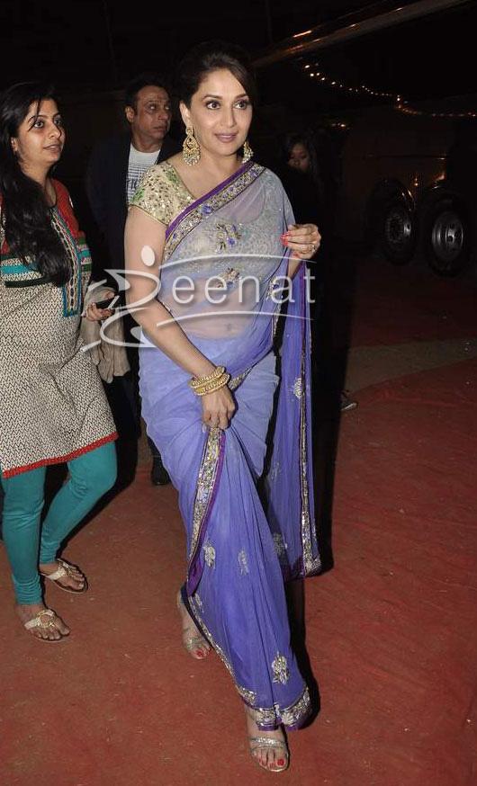 Madhuri In Saree