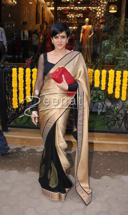 Mandira Bedi In Designer Saree