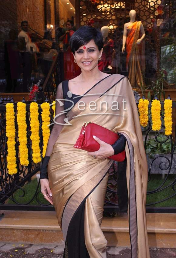 Mandira Bedi at Hue Store Launch in Mumbai