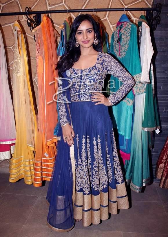 Neha Sharma In Designer Anarkali