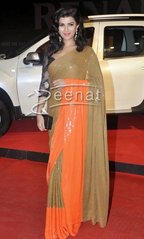 Nimrat Kaur In Designer Saree
