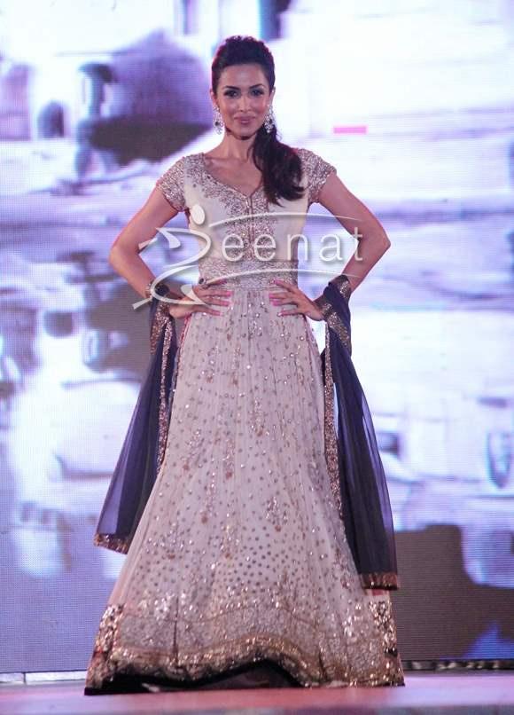 Malaika Arora Khan In Anarkali Suit