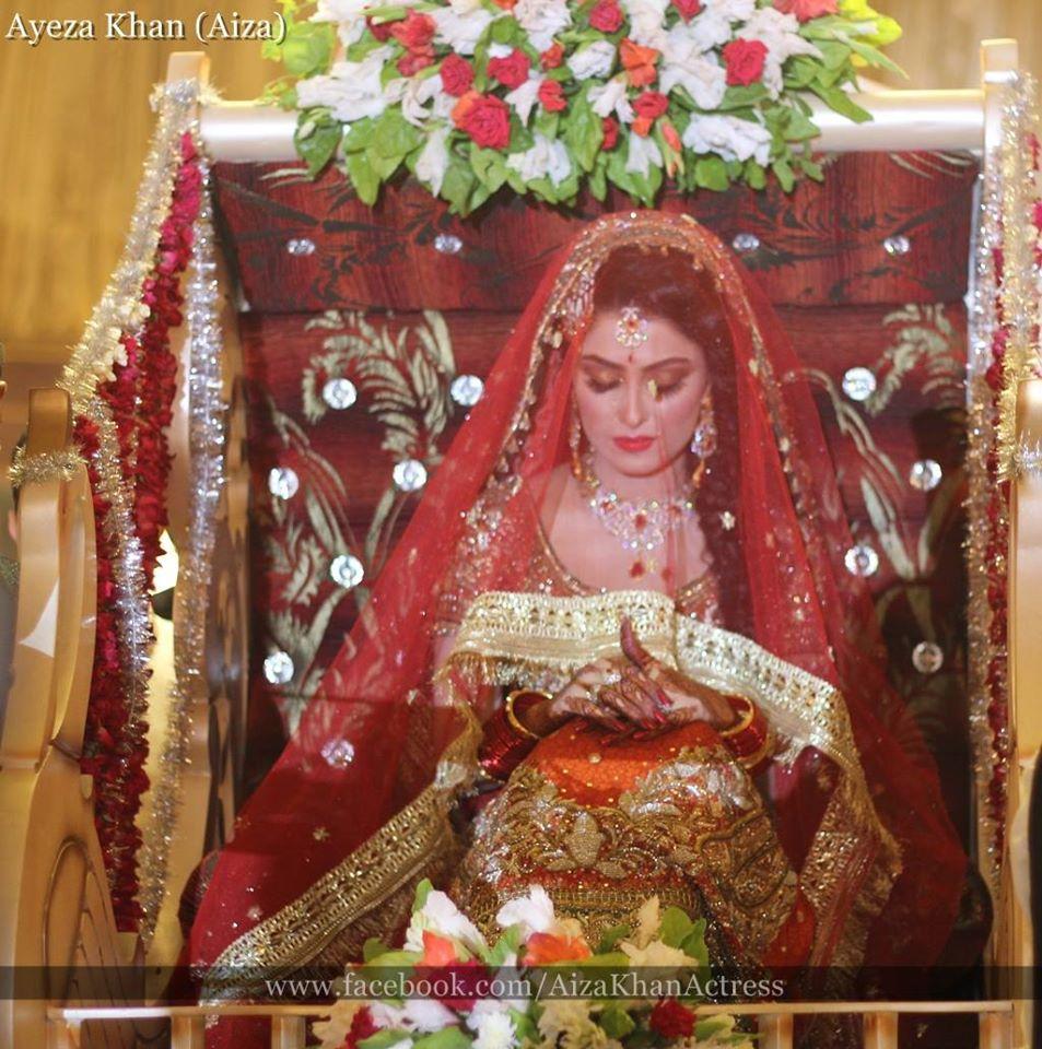 Ayeza Khan Wedding Stills 6